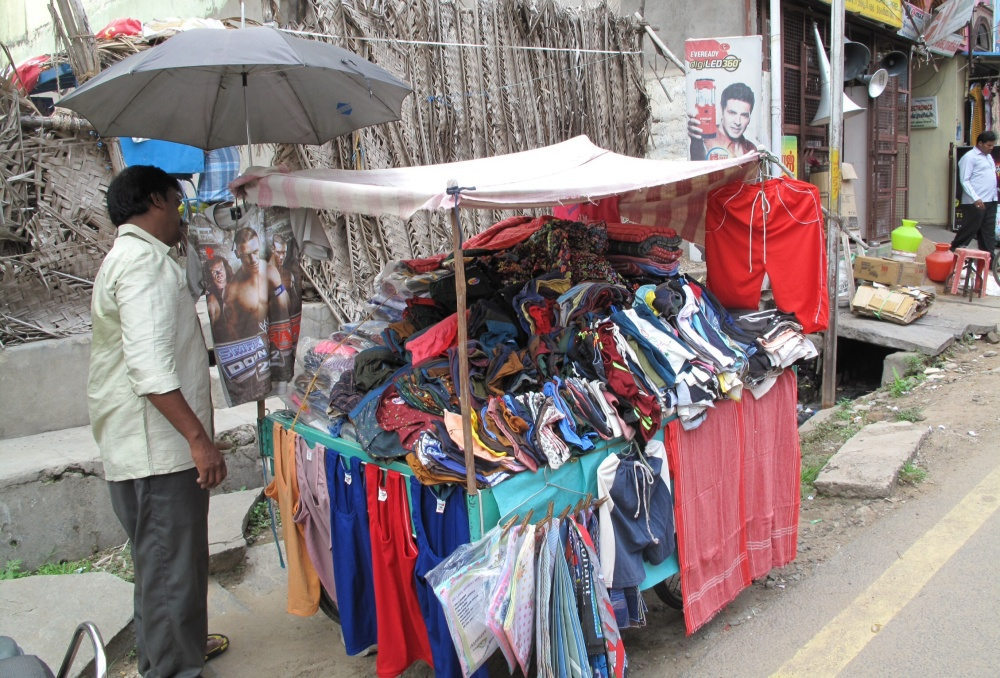 A huge variety of stalls allure the Full Moon crowds