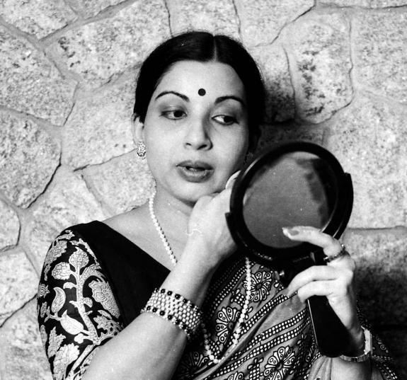 Jayalalitha in her heady heyday.