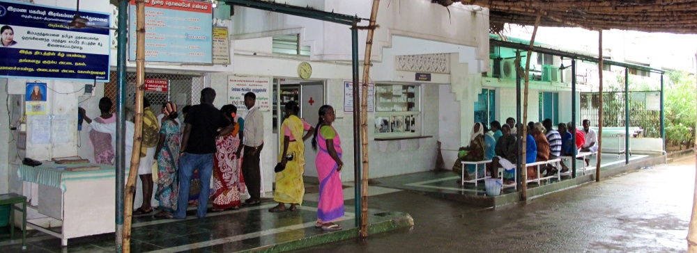 Welcome to the registration and Entry area of Rangamal Hospital.